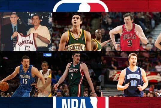 NBA'de forma giymiş Türk basketbolcular