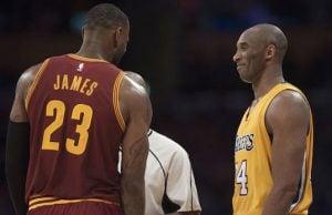 LeBron James Kobe Bryant'a selam çaktı!