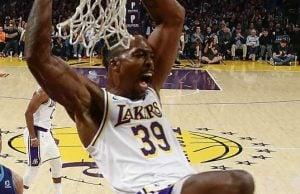 Howard gençliğindeki gibi oynadı! Lakers kazandı