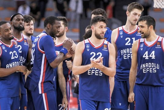 Anadolu Efes takım kadrosu 2019-20