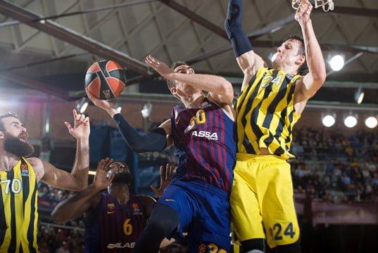Fenerbahçe Beko Barcelona Lassa 2018-2019 sezonu Euroleague karşılaşması