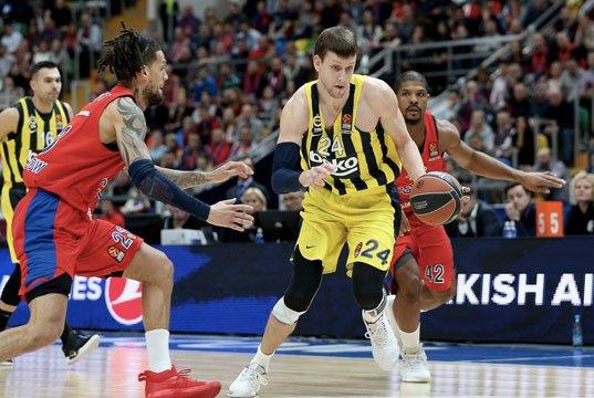 Fenerbahçe Beko CSKA Moskova deplasmanından çıkamadı!