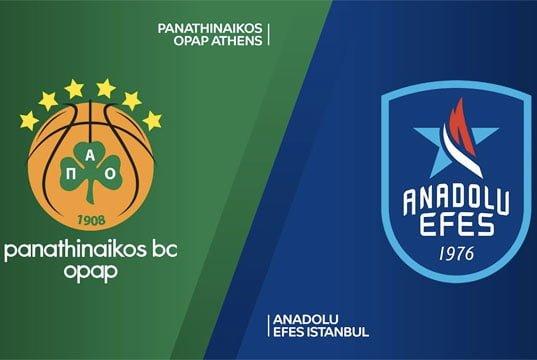 Panathinaikos - Anadolu Efes [VIDEO ÖZET]