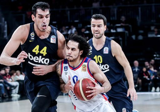 Anadolu Efes Fenerbahçe Beko ING Basketbol Süper Ligi 12. hafta