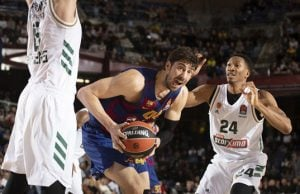 Barcelona Yunan devi Panathinaikos'u 98-86 ile geçti