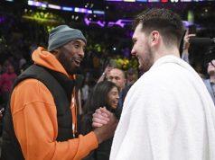 Kobe Bryant ile Luka Doncic'in tanışması
