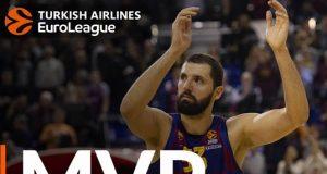 Nikola Mirotic Barcelona Aralık MVP