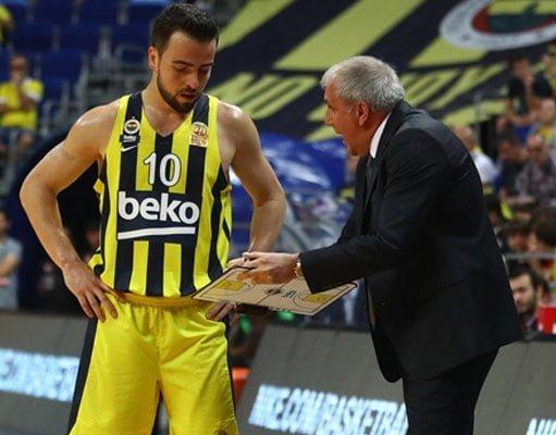 Zeljko Obradovic, Melih Mahmutoğlu - Fenerbahçe Beko İstanbul