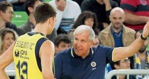 Tarık Biberovic - Zeljko Obradovic - Fenerbahçe Beko İstanbul