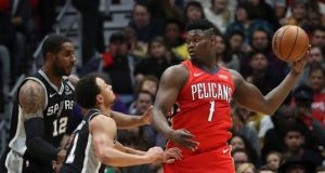 Zion Williamson Spurs maçı