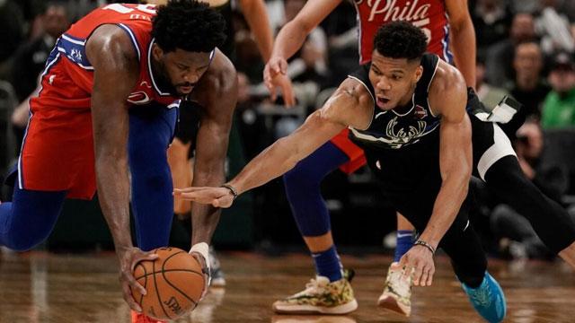 Ersan'lı Bucks Giannis'in devleştiği gecede, Furkan'lı 76ers'i ezdi geçti