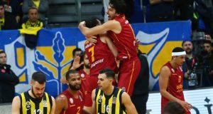 Galatasaray Ülker Arena'da Fenerbahçe'yi ilk kez mağlup etti