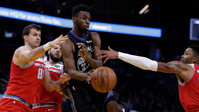 Bogdanovic'li Sacramento Kings, Golden State Warriors'u yıktı!