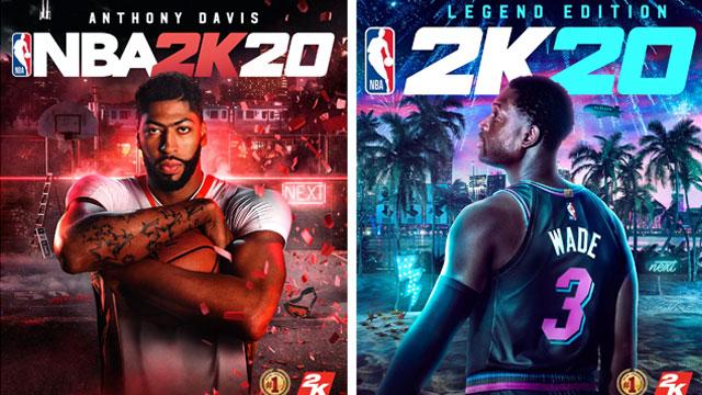 NBA oyuncuları NBA 2K20'de kozlarını paylaşacak