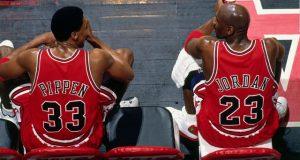 """""""Scottie Pippen'ın Jordan'a karşı kıskaçlığı belli"""""""