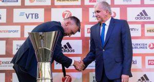 Obradovic devreye girdi: Jasikevicius ile Fenerbahçe'yi konuştu