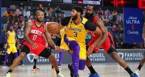 Los Angeles Lakers ile Houston Rockets-1