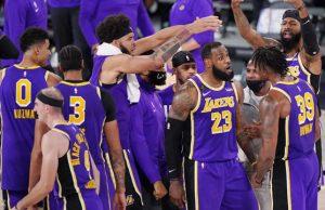 Los Angeles Lakers vs Denver Nuggets final